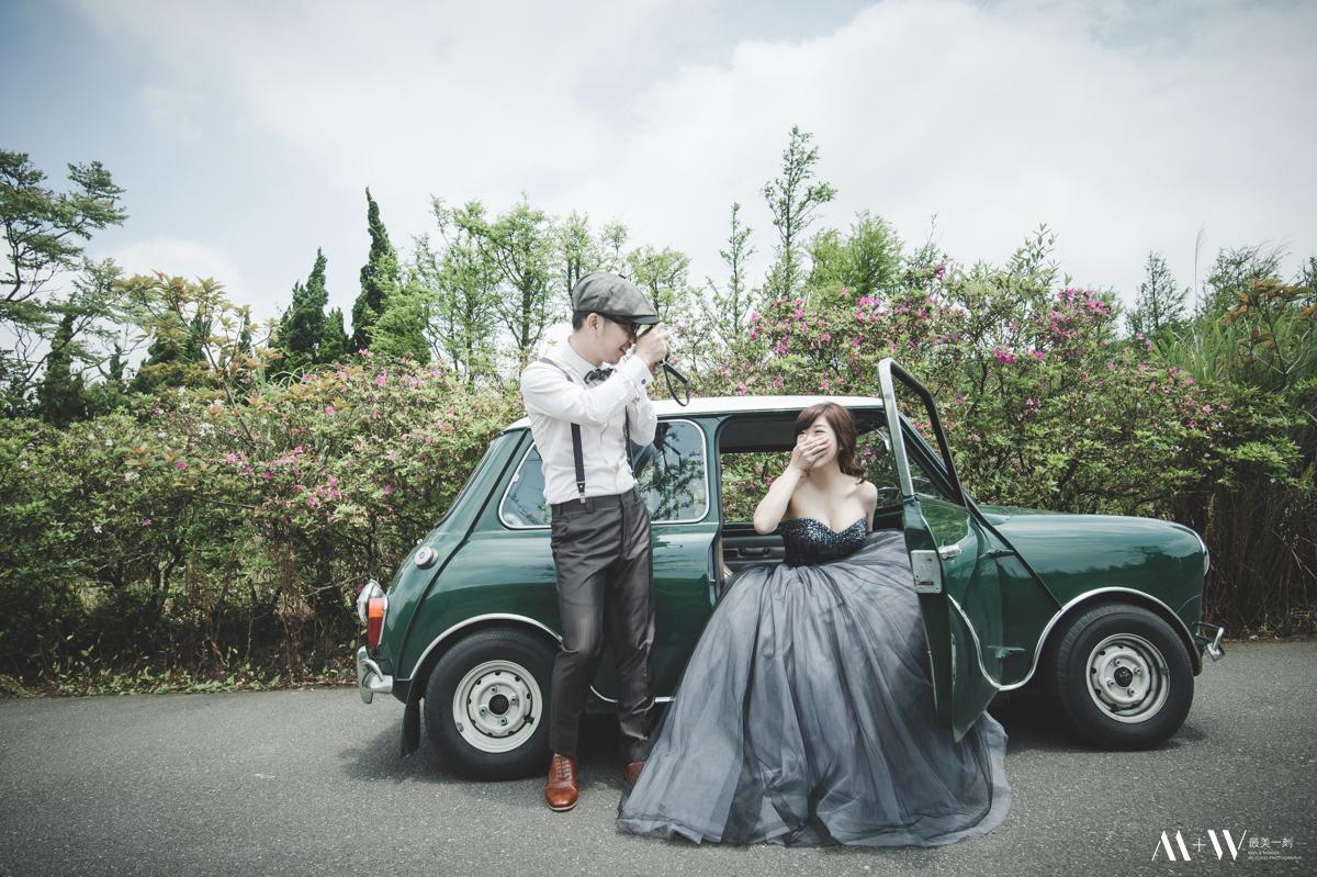 自助婚紗,自主婚紗,歐美風格,婚紗攝影,新秘,陽明山,內湖婚紗,mini,復古造型