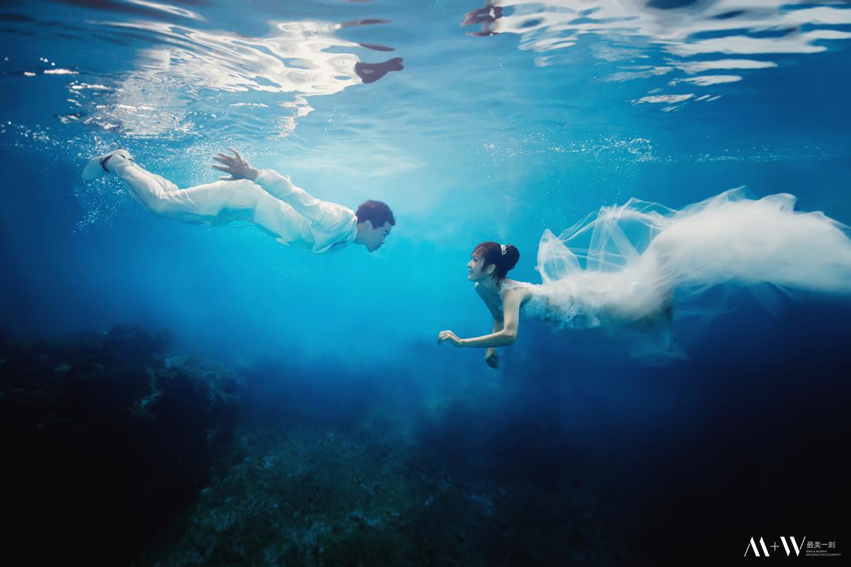 水中婚紗,水底攝影,潛水,蘭嶼,underwater,underwaterphotography
