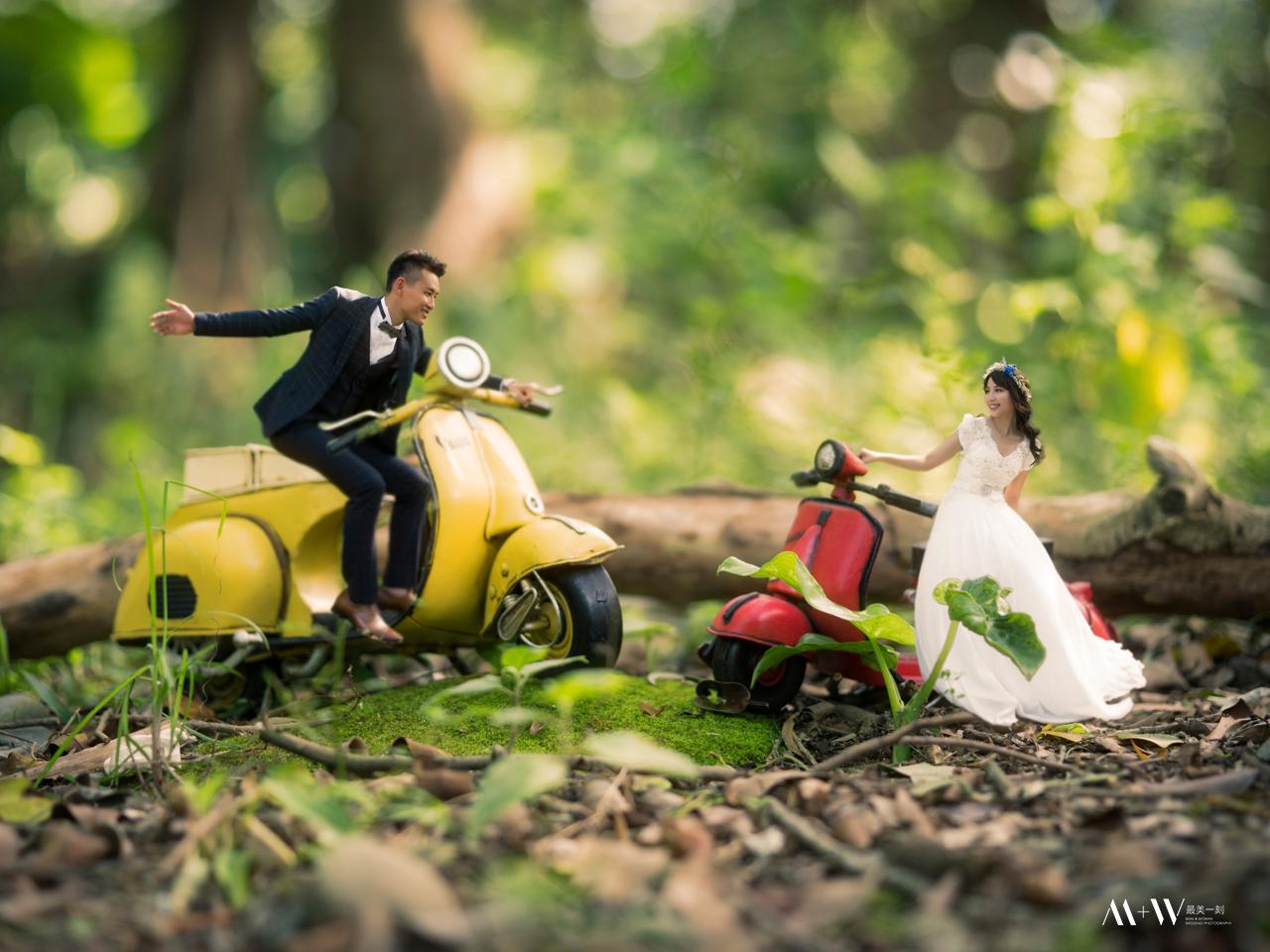 婚紗照 ,日本吉卜力,自主婚紗, M+W最美一刻,