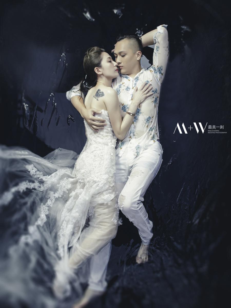 #內湖婚紗 #自主婚紗 #自助婚紗 #最美一刻 #水中婚紗